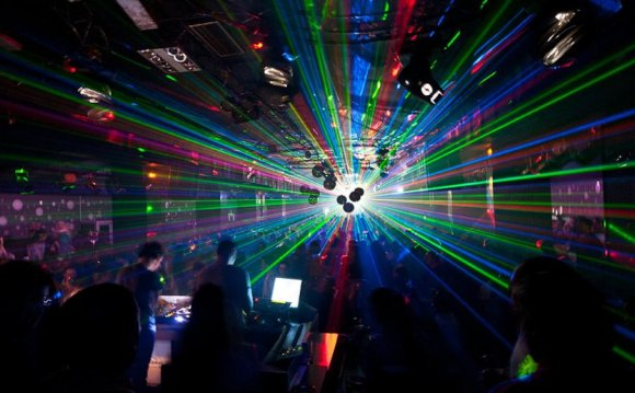 The Laser in Dance Music