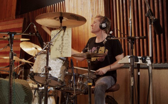 Drum Recording Session with