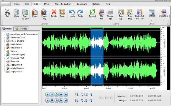 Audio Recorder Editor Free