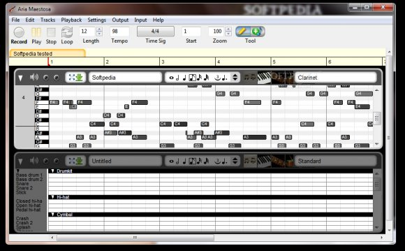 Midi sequencing