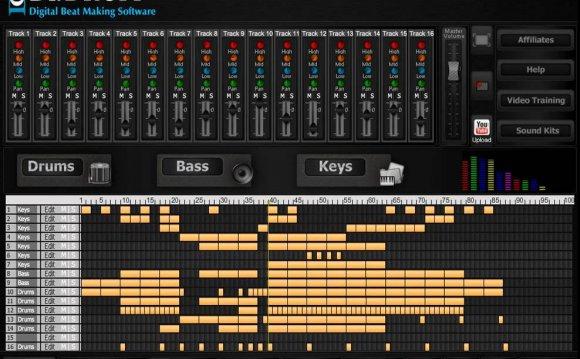 Drum machine online- Dubstep