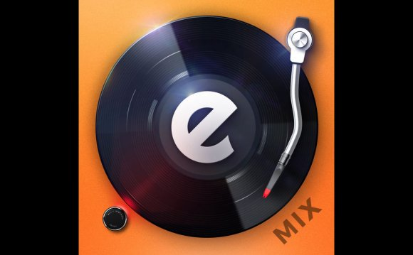 Edjing Mix:DJ turntable to