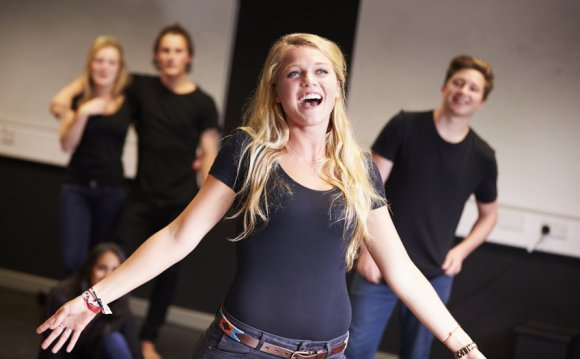Students Taking Singing Class