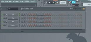 FL Studio's action sequencer