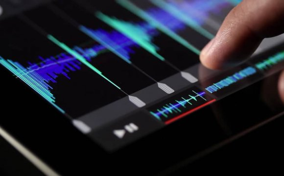 Music production software for iPad