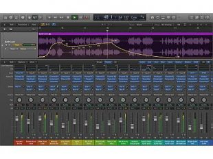 Logic musical tracking computer software