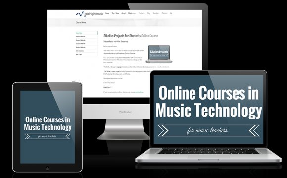 Online music Technology courses